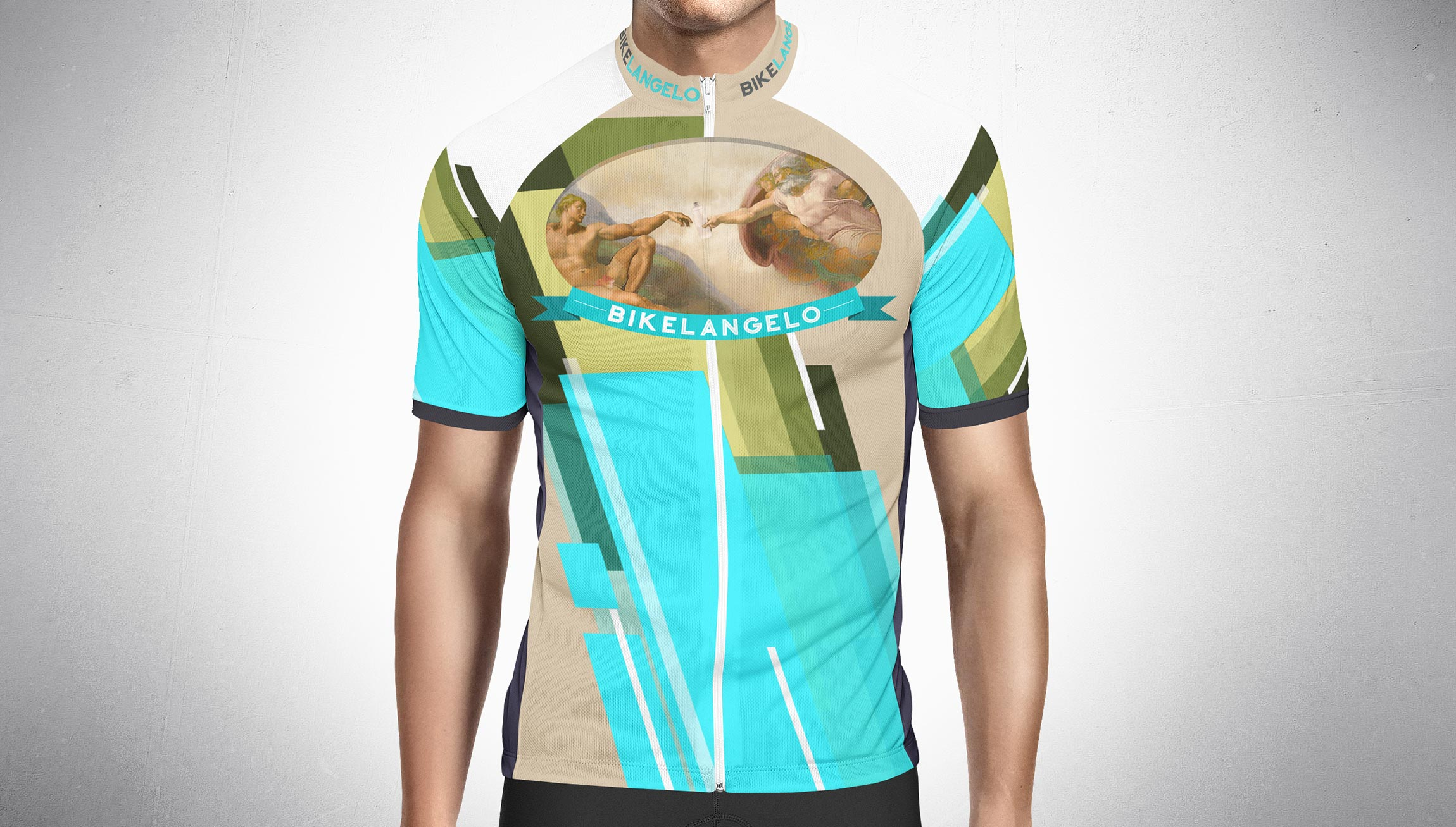 Printing and Design - Biking Sports Shirt Mockups for William's Cycling