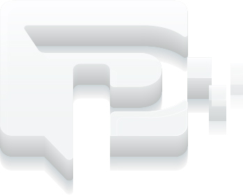 Prime Encode logo 3D Icon in White