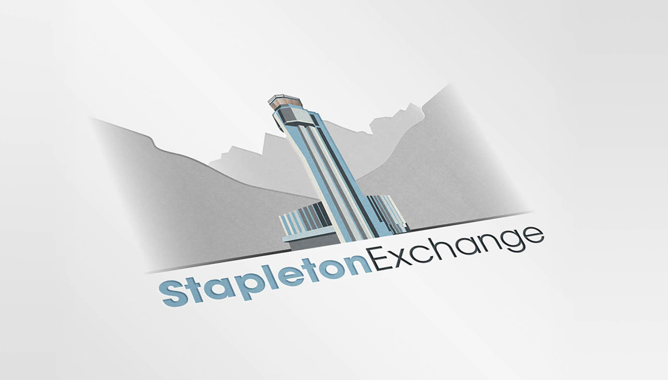 Logo & Branding - Logo design mockup for Stapleton Exchange